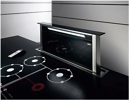Every possible extraction system available... with the Downdraft Extractor a favourite for clients who prefer their hob to be installed in their Island Cabinets.
