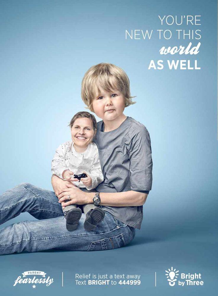 Publicidad creativa de Fundación para Nuevos papás @alvarodabril