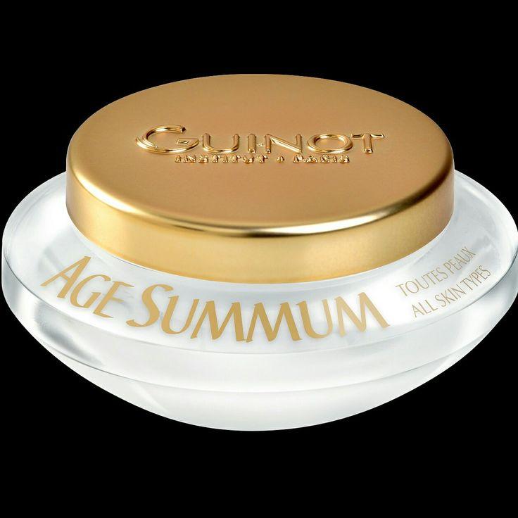 Discover Guinot's premier anti-ageing cream - Creme Age Summum #skinexperts #skin #LoveGuinot #antiaging #luxuryskincare