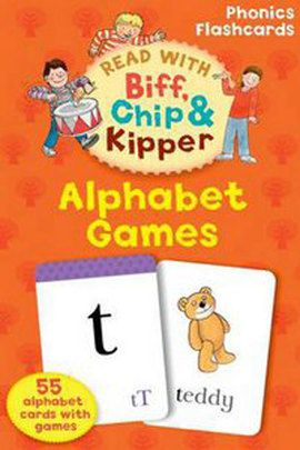 Oxford Reading Tree Read with Biff, Chip, and Kipper Flashcards: Alphabet Games(Other):9780198486640