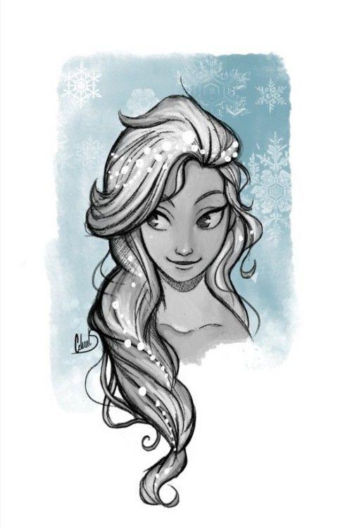 Elsa - Lupi Vulpes I really like this art style..