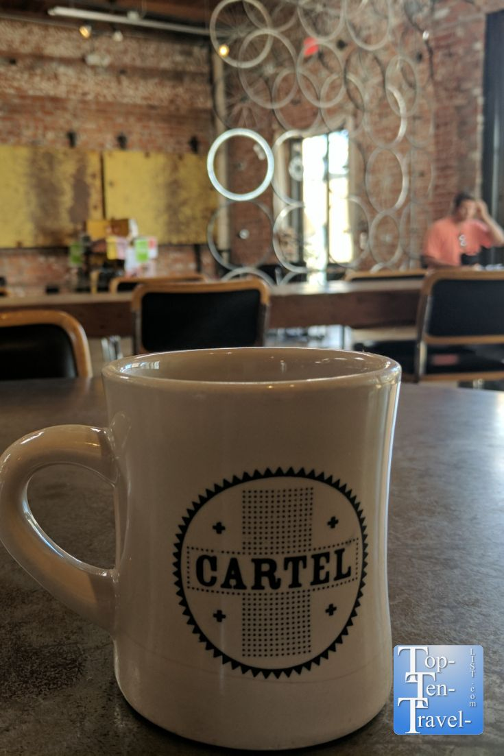 5 Coffee Houses To Check Out In Tucson Top Ten Travel Blog Cartel Coffee My Coffee Coffee House