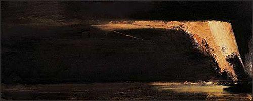 Maleri ØRNULF OPDAHL 2001 - gallerihaaken.com