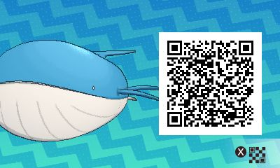wailord PLEASE FOLLOW ME FOR MORE DAILY NEWS ABOUT GAME POKÉMON SUN AND MOON. SIGA PARA MAIS NOVIDADES DIÁRIAS SOBRE O GAME POKÉMON SUN AND MOON.   Game qr code Sun and moon código qr sol e lua Pokémon Nintendo jogos 3ds games gamingposts caulofduty gaming gamer relatable Pokémon Go Pokemon XY Pokémon Oras