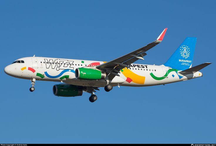 HA-LYG Wizz Air Airbus A320-232(WL)