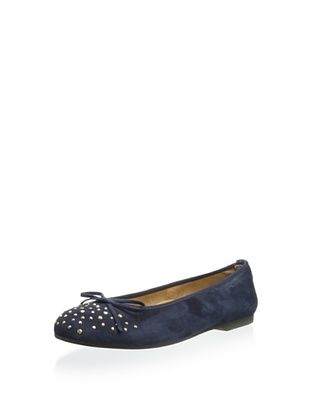 63% OFF Clarys Kid's 5094 Ballet Flat (Navy)