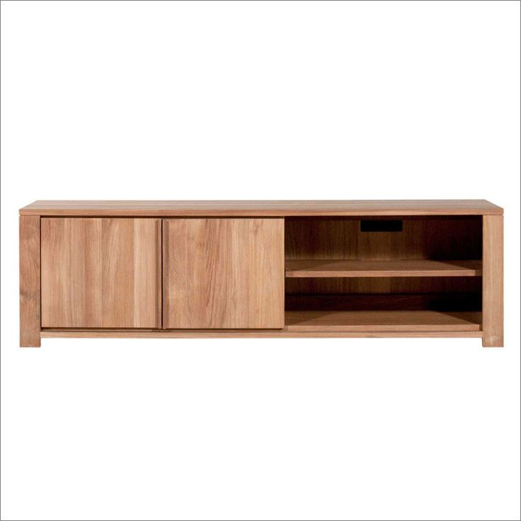 Teak Lodge Entertainment Unit 160cm from Volume Furniture