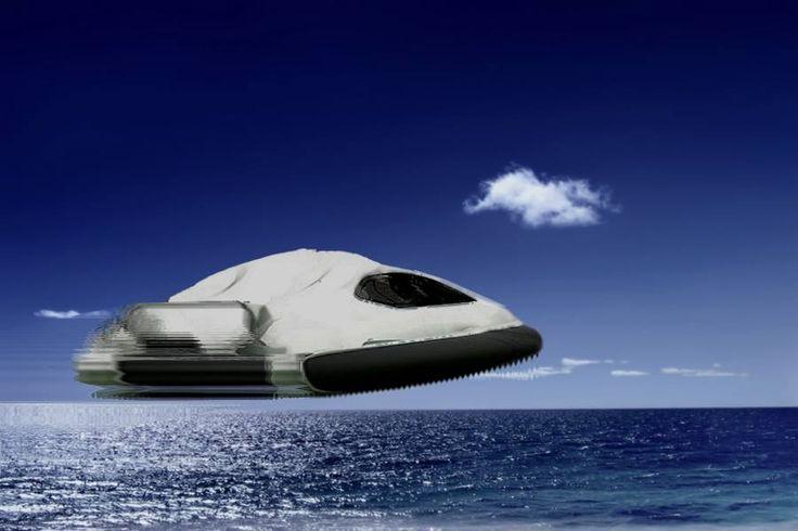 Véhicule Hybride de type Air & Water-Craft ( under water too ) de Missions piloté par une équipe de moins de 10 femmes