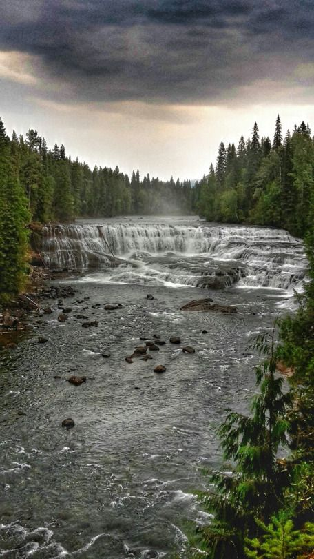 CANADA 2015 - Dawson Falls, Wells Gray Provincial Park, British Columbia // Loving.Hamburg. | By Svenja Harder