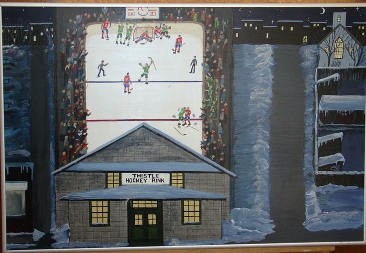 Thistle Hockey Rink Game.