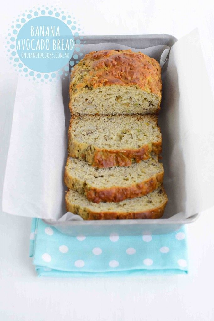 Banana Avocado Bread Banana and avocado is a winning combination for babies so it's not surprising they make a delicious loaf together. The avocado providesa nutrient rich alternative to the saturated fat laden butter and gives a lovely, lighter, softer texture that is simply yummy. Simply slice into fingers for a tasty snack or freeze …