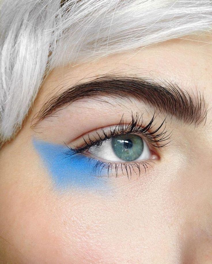 Pinterest - @coppermakeup  Editorial Makeup