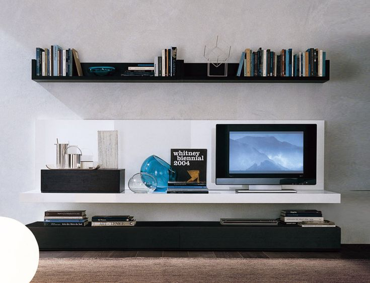 64 best media units images on pinterest arquitetura tv for Contemporary tv media units
