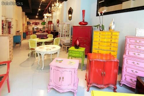 17 best images about hogar on pinterest trapillo for Muebles restaurados vintage