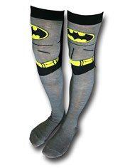 Batman Costume Over-the-Knee Caped Socks