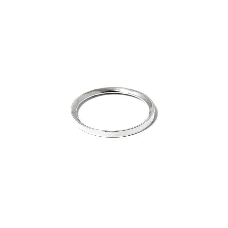 The Edge Ring by SARAH & SEBASTIAN is a band-style ring created in sterling silver featuring an angled edge detailing. Nickel free.