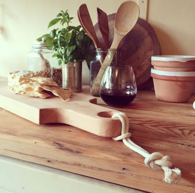 Hardwood By Hand Cheeseboard | By Joost Terracotta glazed Serving ware | Styling by @bec_riles |