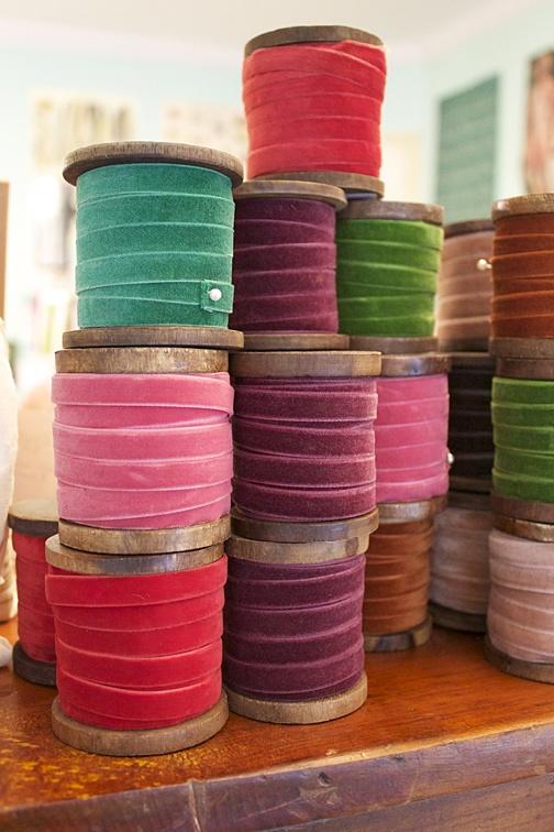 Marais Velvet Ribbon...putting in my order today!