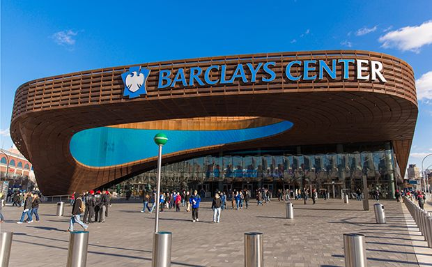 Barclays Center in Brooklyn.
