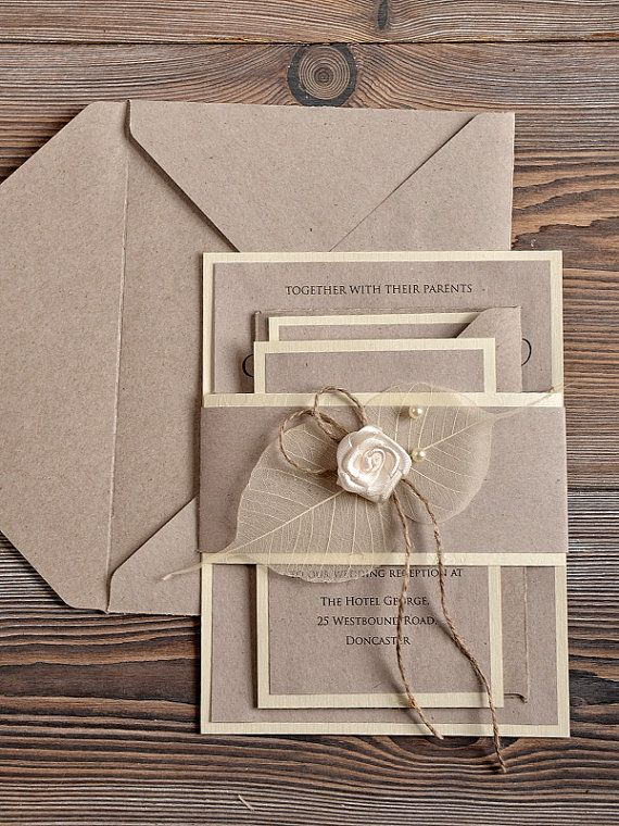 I Just Really Like How They Re All Tied Together With The Ribbon Here Wedding Invitations Pinterest And Country