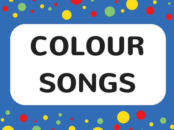Colour Songs for Kids Love to Sing's colour songs for toddlers are the fun and easy way to learn colours! #colorsongs #color #colour #kids #music