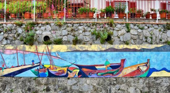 #Furore - #Murales paese dipinto