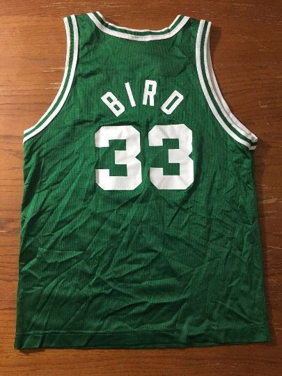 Vintage NBA Larry Bird Boston Celtics Basketball Champion Jersey  #Champion…