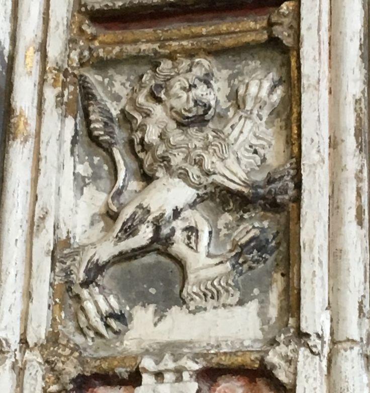 Lion. Cathédrale de Tolede. espagne