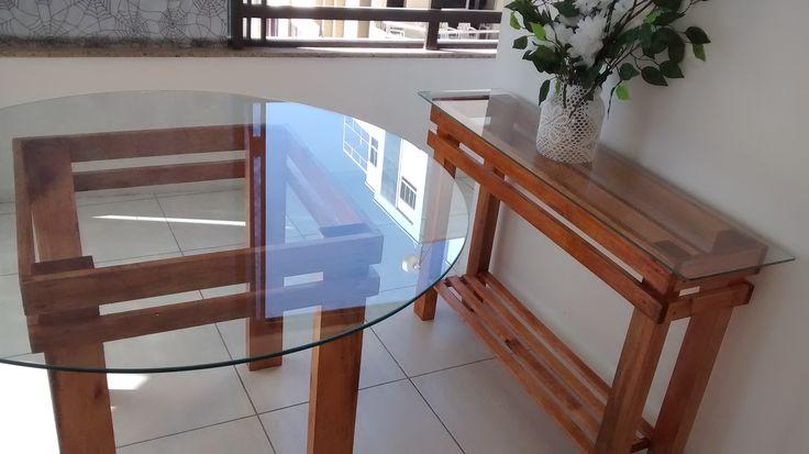 Armario Pax Ikea Puertas Correderas ~ Base de mesa e aparador feito com pallets , quem foi que
