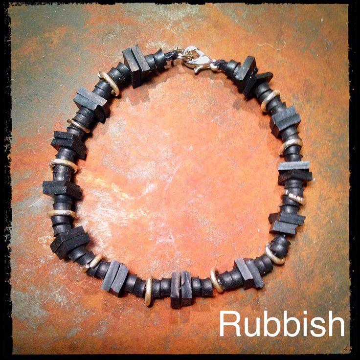 Bracelet #innertube #remake #diy
