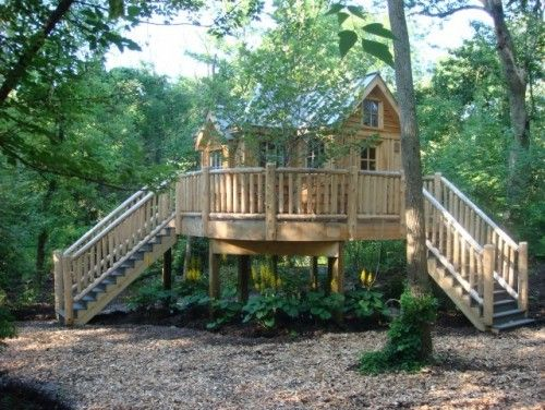 9 Incredible Treehouses
