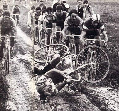 1981 : des cochons dans la boue ? (Bernard Hinault parlait ainsi de Paris-Roubaix, 1981)