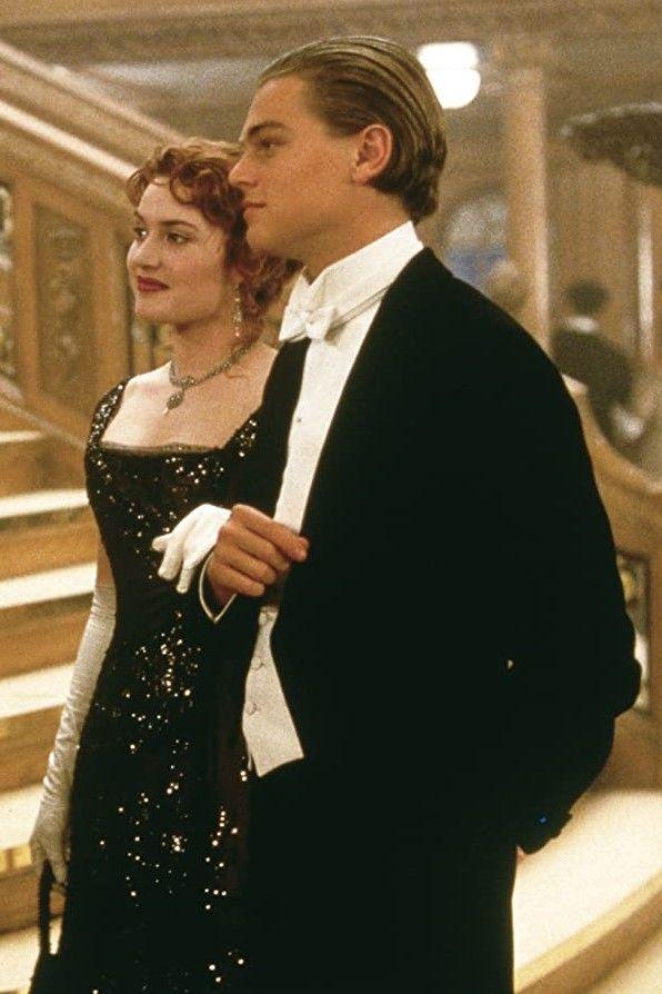 Leonardo Dicaprio And Kate Winslet In Titanic 1997