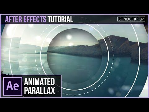 After Effects Tutorial: Geometric Photo Parallax