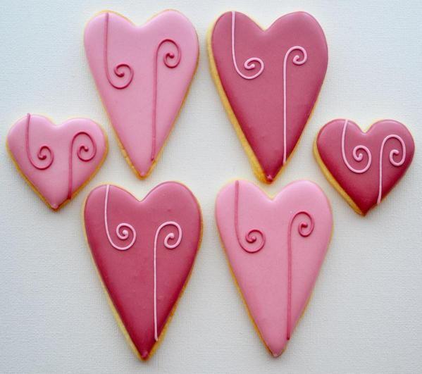 Easy valentine cookies