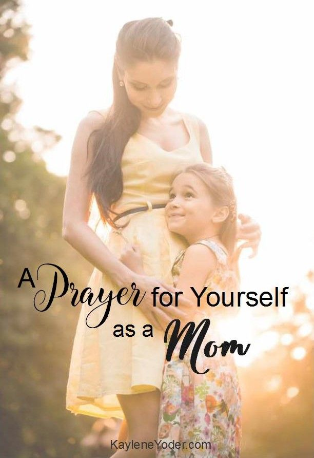 Being a mom is one of the highest callings of a woman. Yet so often we feel like failures. Here is a special prayer for moms!