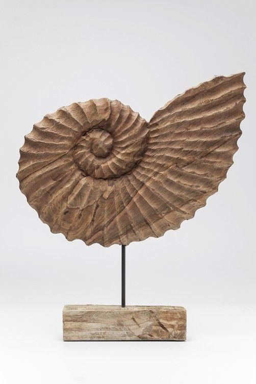 Dekofigur Muschel Nautilus Skulptur Figur Statue Designobjekt Design Deko  KARE | Möbel U0026 Wohnen, Dekoration