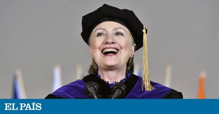 📽️ Vídeo | Clinton recuerda el 'impeachment' de Nixon para atacar a Trump. La excandidata demócrata regresa a la universidad donde se graduó hace 48 años y reivindica la resistencia ciudadana a las políticas del republicano