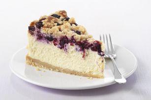 PHILADELPHIA Blueberry Streusel Cheesecake