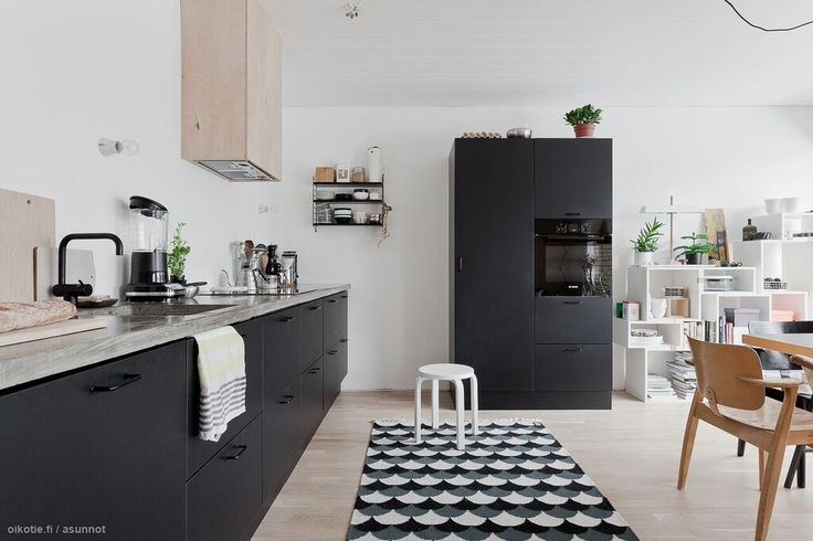 1000+ images about Kitchens  Keittiöt  Kök on Pinterest  Cabinets, Black k