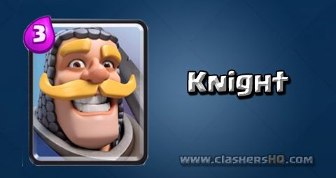Find out all about the Clash Royale Knight Card. How to get Knight & attack/counter Knight effectively.