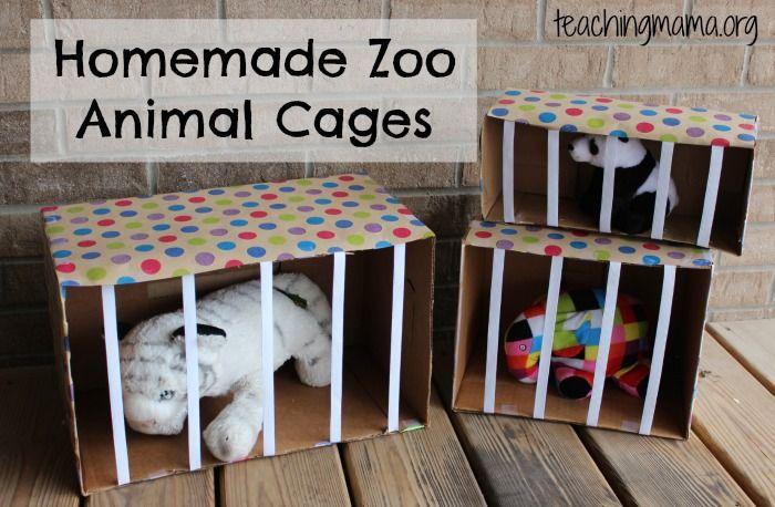 Zoo Animals – Dramatic Play Activity