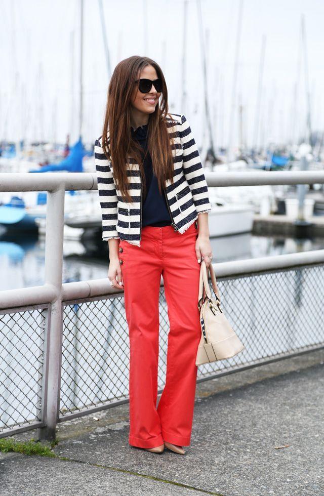 Nautical Theme: How to Wear Sailor Pants waysify