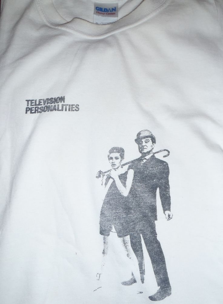 TELEVISION PERSONALITIES-(CAMDEN MARKET LONDON 18-5-12 12.2=10 POUNDS)