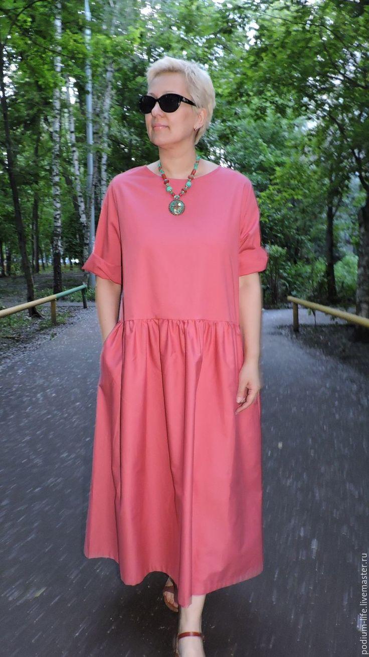 Купить Летнее платье Бохо из 100% хлопка. - бохо, купить бохо, бохо платья