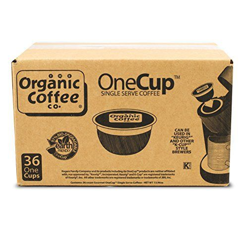 The Organic Coffee Co. OneCup, Breakfast Blend, 36 Single Serve Coffees - http://teacoffeestore.com/the-organic-coffee-co-onecup-breakfast-blend-36-single-serve-coffees/