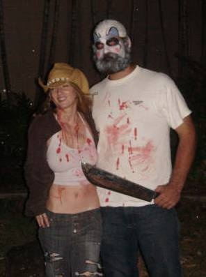 Captain Spaulding and Baby Firefly Halloween Costume for Couples