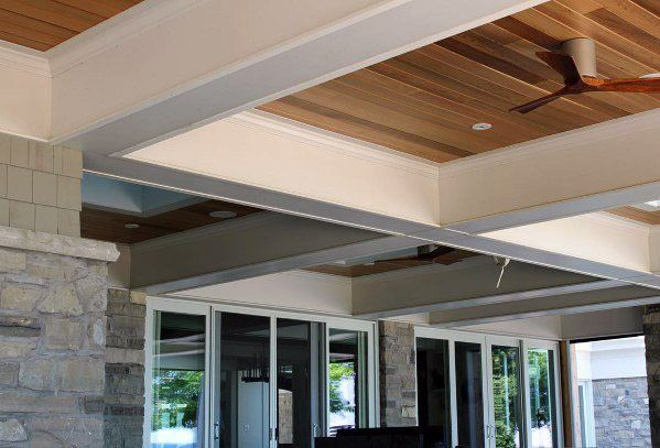 Top 70 Best Porch Ceiling Ideas Covered Space Designs Porch Ceiling Patio Ceiling Ideas False Ceiling Design