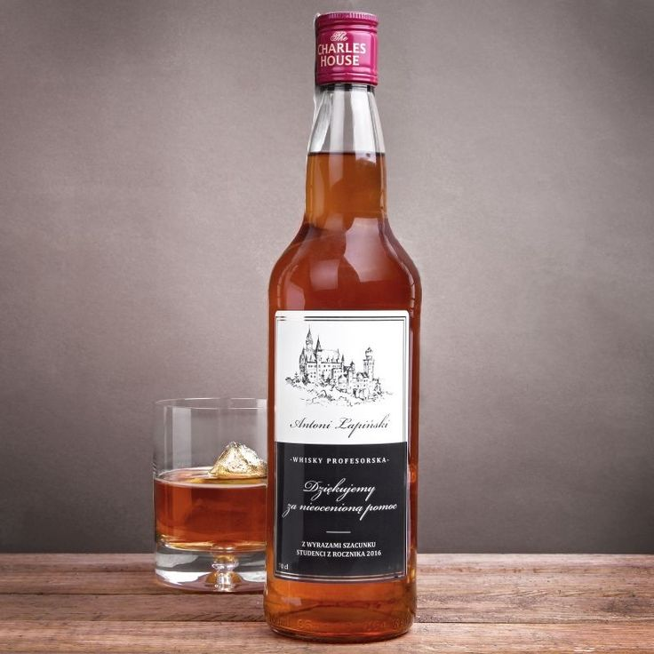 Whisky personalizowane PROFESORSKA