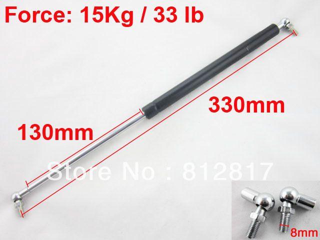 $14.19 (Buy here: https://alitems.com/g/1e8d114494ebda23ff8b16525dc3e8/?i=5&ulp=https%3A%2F%2Fwww.aliexpress.com%2Fitem%2F15kg-33lb-Force-330mm-x-130mm-Auto-Car-Support-Lift-Prop-Gas-Spring%2F679419685.html ) 15kg 33lb Force 330mm x 130mm Auto Car Support Lift Prop Gas Spring for just $14.19
